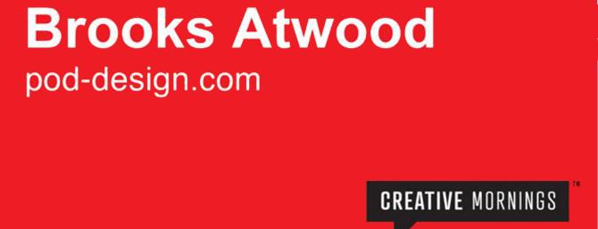Creative Mornings NYC Brooks Atwood NJIT