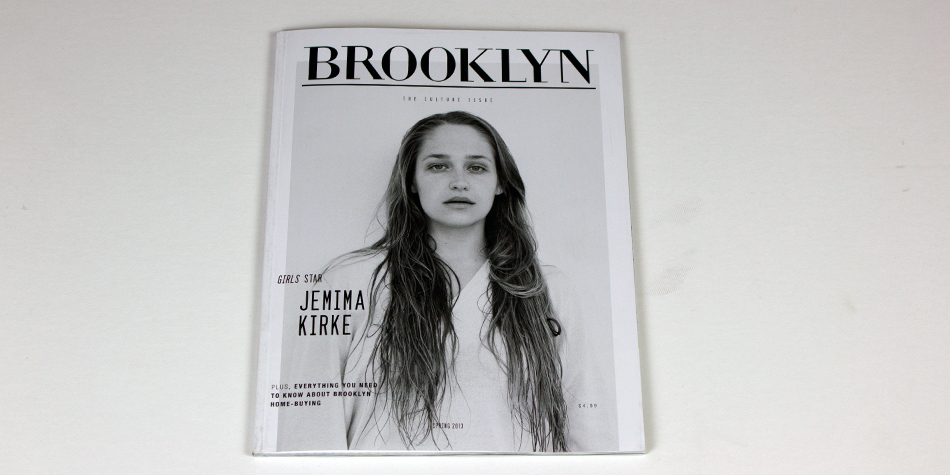 BROOKLYN MAGAZINE COVER Jemima Kirke Brooks Atwood