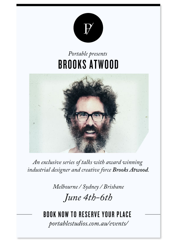 Brooks Atwood Portable Talks Australia Syndry Brisbane Melbourne_Flyer_Standard_v21