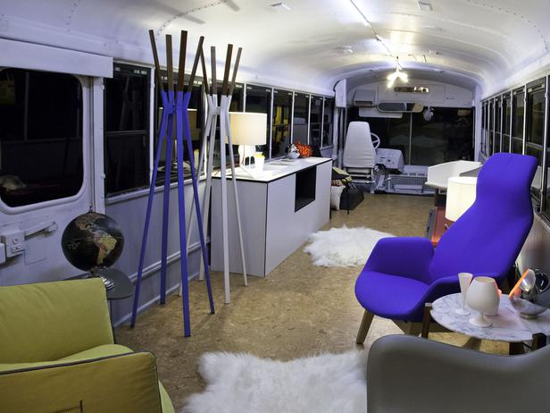 HGTV STAR-N806_brooks-atwood school bus time travelers lounge
