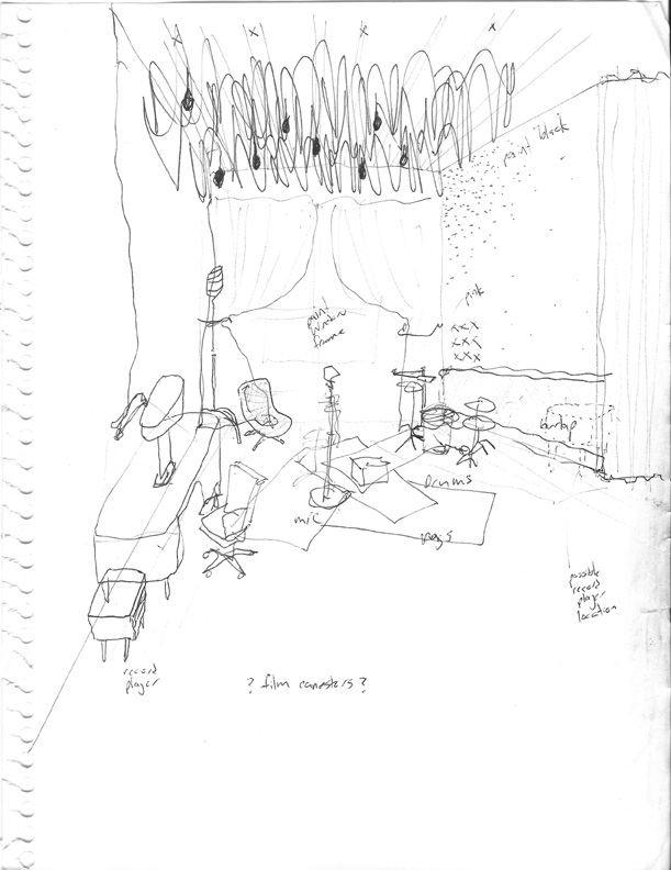 Sketch brooks atwood rock n roll chandelier custom made hgtv star