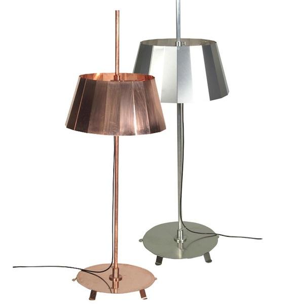 Plisse Standing Lamp by Piet Hein Eek