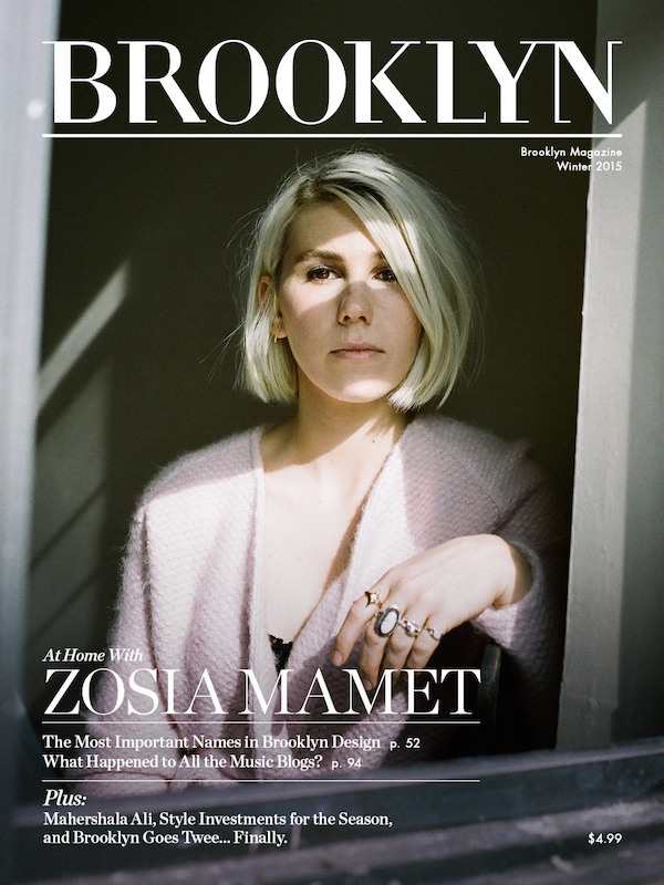 brooklyn magazine 1214 Zosia Mamet Brooks Atwood most important names design